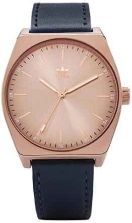 Adidas Damen Analog Quarz Uhr mit Leder Armband Z05-2908-00 - 1