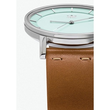 Adidas Damen Analog Quarz Uhr mit Leder Armband Z08-2922-00 - 3