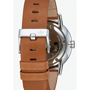 Adidas Damen Analog Quarz Uhr mit Leder Armband Z08-2922-00 - 5