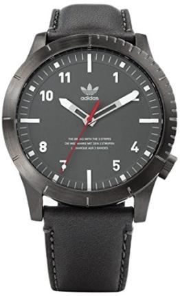 Adidas Herren Analog Quarz Uhr mit Leder Armband Z06-2915-00 - 1