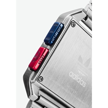 Adidas Herren Digital Uhr mit Edelstahl Armband Z01-2924-00 - 3