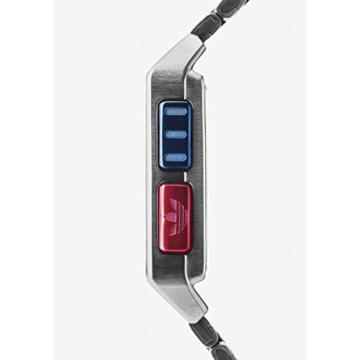 Adidas Herren Digital Uhr mit Edelstahl Armband Z01-2924-00 - 4