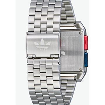 Adidas Herren Digital Uhr mit Edelstahl Armband Z01-2924-00 - 5