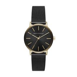 Armani Exchange Damen Analog Quarz Uhr mit Edelstahl Armband AX5548 - 1