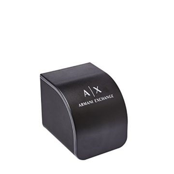 Armani Exchange Damen Analog Quarz Uhr mit Leder Armband AX5326 - 3