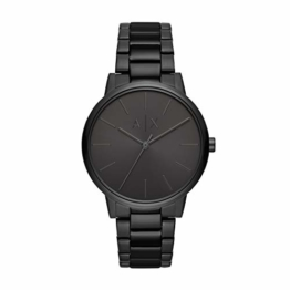 Armani Exchange Herren Analog Quarz Uhr mit Edelstahl Armband AX2701 - 1