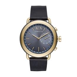 Armani Exchange Herren Analog Quarz Uhr mit Leder Armband AXT1023 - 1