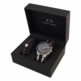 Armani Exchange Herren-Chronograph und Armband im Set AX7106 - 1