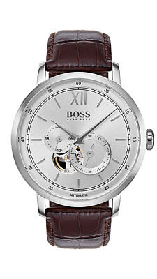 Boss SIGNATURE TIMEPIECE COLLECTION Herrenuhr Automatic 1513505 Analog Kleine Se