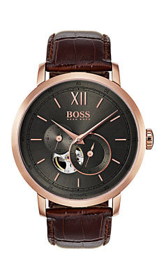 Boss SIGNATURE TIMEPIECE COLLECTION Herrenuhr Automatic 1513506 Analog Kleine Se