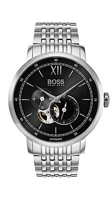Boss SIGNATURE TIMEPIECE COLLECTION Herrenuhr Automatic 1513507 Analog Kleine Se