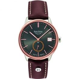 Bruno Söhnle Damen Analog Quarz Uhr mit Leder Armband 17-63183-841 - 1
