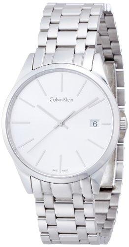 Calvin Klein Damen Analog Quarz Smart Watch Armbanduhr mit Edelstahl Armband K4N23146 - 1