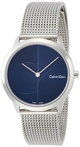 Calvin Klein Damen Analog Quarz Uhr mit Edelstahl Armband K3M2212N - 1