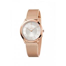 Calvin Klein Damen Analog Quarz Uhr mit Edelstahl Armband K3M22626 - 1
