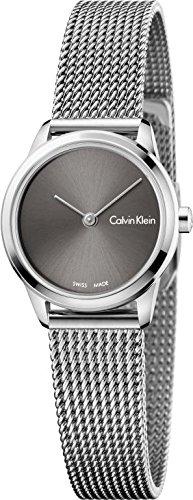 Calvin Klein Damen Analog Quarz Uhr mit Edelstahl Armband K3M231Y3 - 1