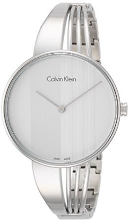 Calvin Klein Damen Analog Quarz Uhr mit Edelstahl Armband K6S2N116 - 1
