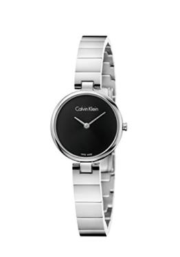 Calvin Klein Damen Analog Quarz Uhr mit Edelstahl Armband K8G23141 - 1