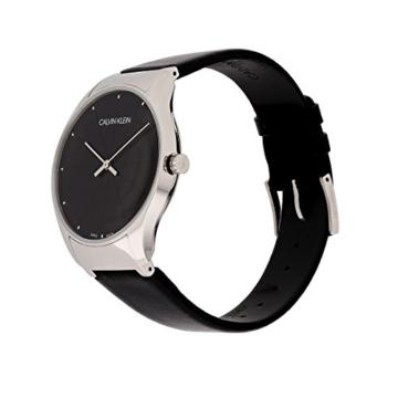 Calvin Klein Damen Analog Quarz Uhr mit Leder Armband K4D211CY - 2