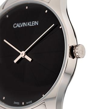 Calvin Klein Damen Analog Quarz Uhr mit Leder Armband K4D211CY - 5