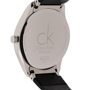 Calvin Klein Damen Analog Quarz Uhr mit Leder Armband K4D211CY - 6