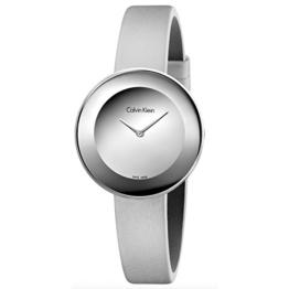 Calvin Klein Damen Analog Quarz Uhr mit Leder Armband K7N23UP8 - 1