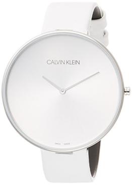 Calvin Klein Damen Analog Quarz Uhr mit Leder Armband K8Y231L6 - 1
