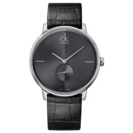 Calvin Klein Damen-Armbanduhr XS accent Analog Quarz Leder K2Y231C3 - 1