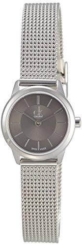 Calvin Klein Damen-Armbanduhr XS ck minimal Analog Edelstahl K3M23124 - 1