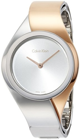 Calvin Klein Damen Digital Quarz Smart Watch Armbanduhr mit Edelstahl Armband K5N2S1Z6 - 1