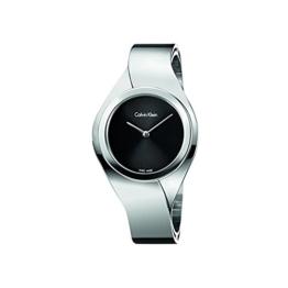 Calvin Klein Damen Digital Quarz Uhr mit Edelstahl Armband K5N2M121 - 1
