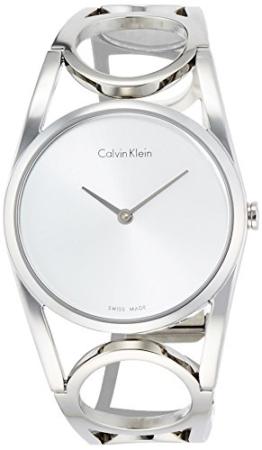 Calvin Klein Damen Digital Quarz Uhr mit Edelstahl Armband K5U2M146 - 1