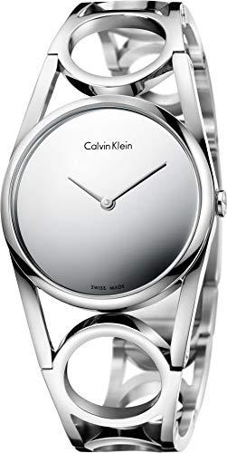 Calvin Klein Damen Digital Quarz Uhr mit Edelstahl Armband K5U2M148 - 1