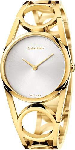 Calvin Klein Damen Digital Quarz Uhr mit Edelstahl Armband K5U2M546 - 1