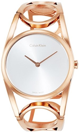 Calvin Klein Damen Digital Quarz Uhr mit Edelstahl Armband K5U2M646 - 1