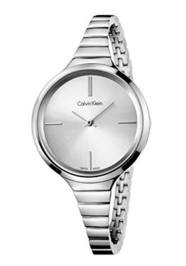 Calvin Klein DamenArmbanduhr Analog Quarz Edelstahl K4U23126 - 1