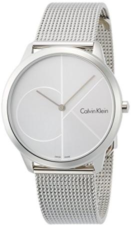 Calvin Klein Herren Analog Quarz Uhr mit Edelstahl Armband K3M2112Z - 1