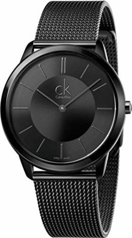 Calvin Klein Herren Analog Quarz Uhr mit Edelstahl Armband K3M214B1 - 1