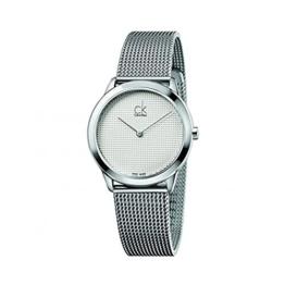 Calvin Klein Herren Analog Quarz Uhr mit Edelstahl Armband K3M2212Y - 1