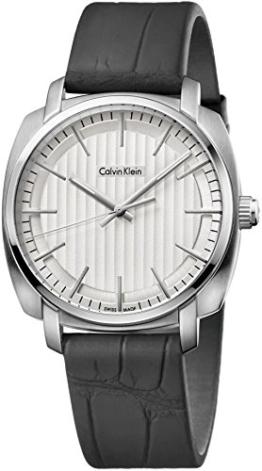 Calvin Klein Herren Analog Quarz Uhr mit Gummi Armband K5M311C6 - 1