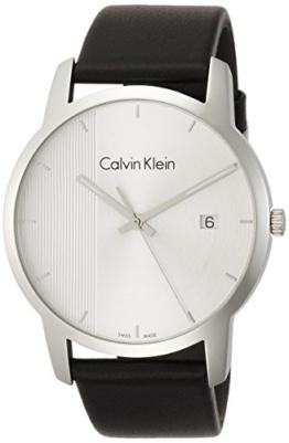 Calvin Klein Herren Analog Quarz Uhr mit Leder Armband K2G2G1CX - 1