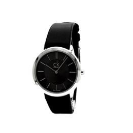 Calvin Klein Herren Analog Quarz Uhr mit Leder Armband K3M221C4 - 1