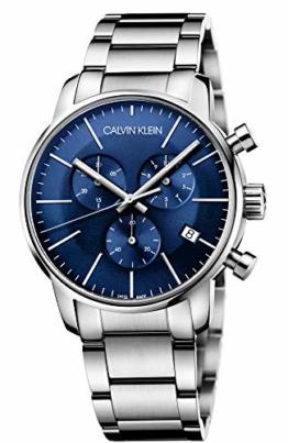 Calvin Klein Herren-Armbanduhr Chronograph Quarz Edelstahl K2G2714N - 1