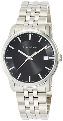 Calvin Klein Herren Digital Quarz Uhr mit Edelstahl Armband K5S31141 - 1