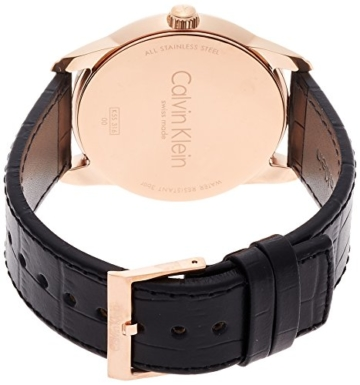 Calvin Klein Herren Digital Quarz Uhr mit Leder Armband K5S316C3 - 2