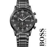✅ Original HUGO BOSS 1513180 Aeroliner Herrenuhr, Chronograph, HBAERIR, NEU+OVP