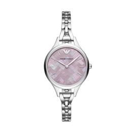 Emporio Armani Damen Analog Quarz Smart Watch Armbanduhr mit Edelstahl Armband AR11122 - 1