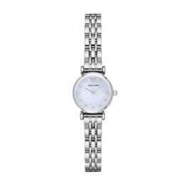 Emporio Armani Damen Analog Quarz Uhr mit Edelstahl Armband AR1961 - 1