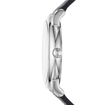 Emporio Armani Herren Analog Quarz Uhr mit Leder Armband AR80012 - 2