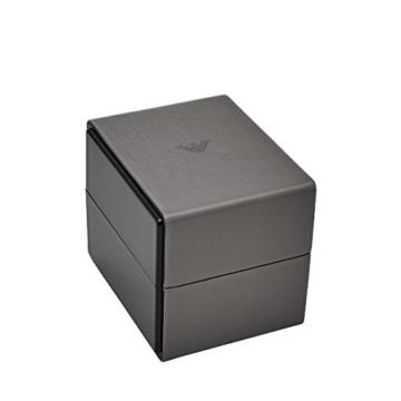 Emporio Armani Herren Analog Quarz Uhr mit Leder Armband AR80012 - 3
